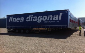 linea diagonal buys in total 25 more trailers