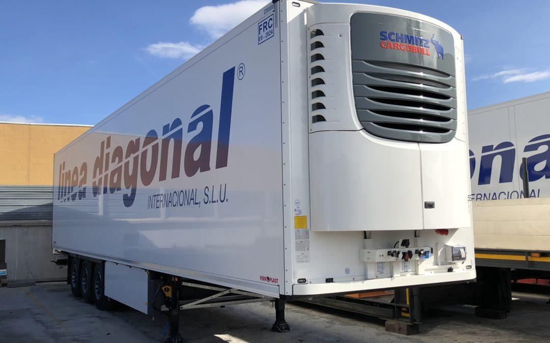 línea diagonal internacional S.L.U adquiere 10 unidades Schmitz con frigo Schmitz
